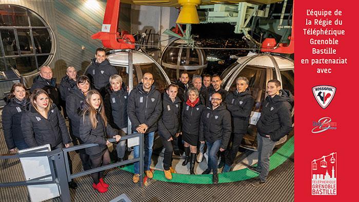 Equipe et partenaires Téléphérique Grenoble Bastille
