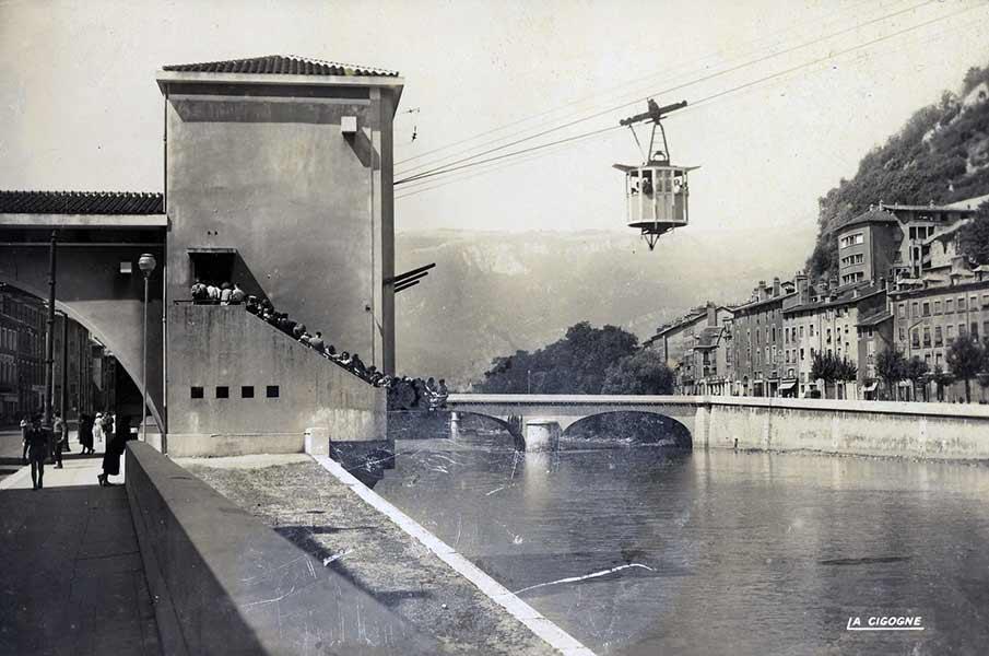 Archives en savoir plus Téléphérique Grenoble Bastille