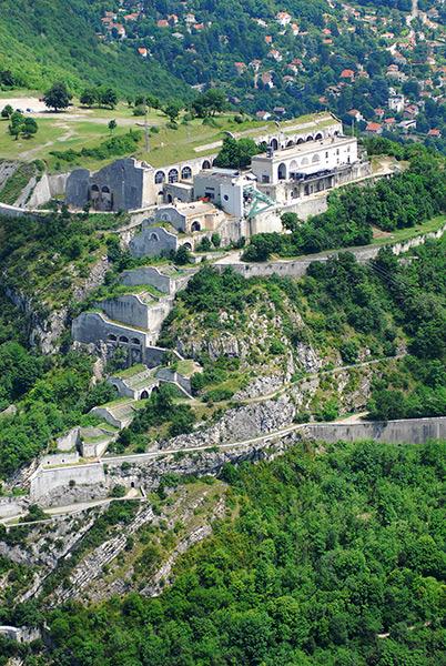 Fort de la Bastille téléphérique Grenoble