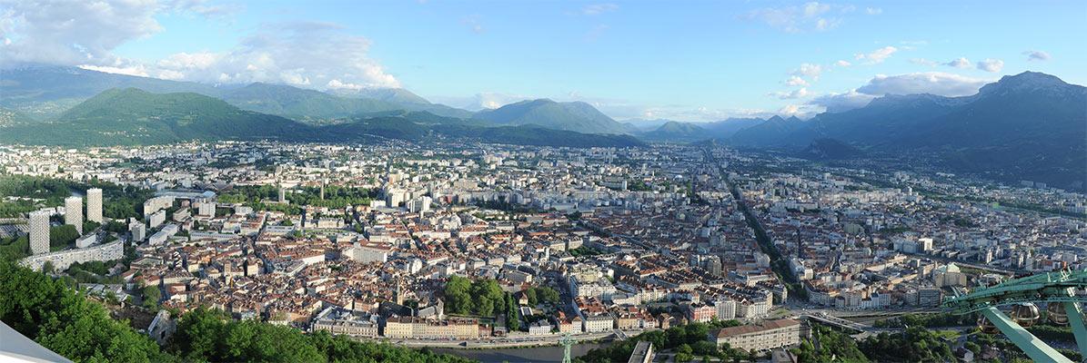 Panorama Belvédère Vauban Bastille