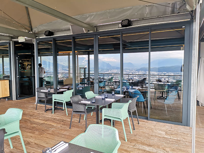 O2 Restaurant Bastille Téléphérique Grenoble