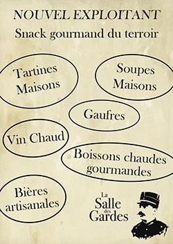 Snack Salle des Gardes Téléphérique Grenoble Bastille