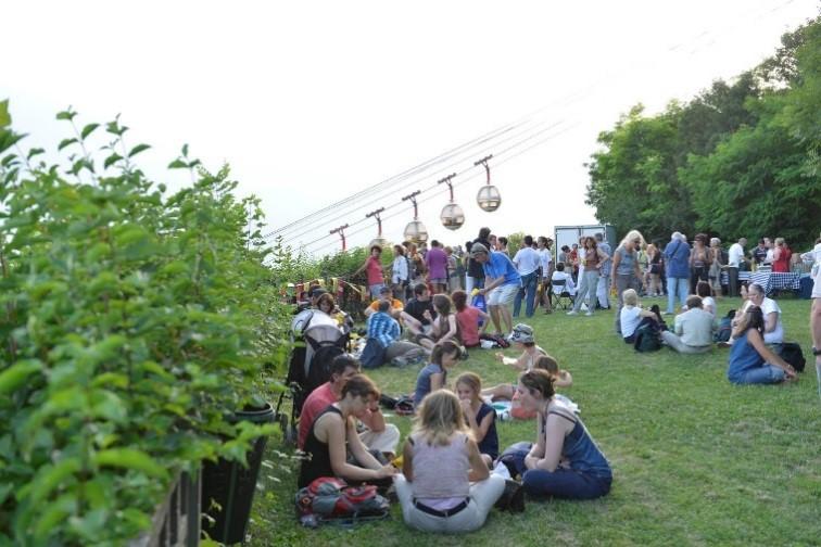 Visite groupe scolaire centre de loisirs téléphérique Grenoble