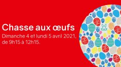 Chasse aux oeufs 2021