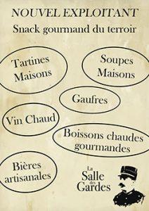 Snack Salle Gardes Bastille